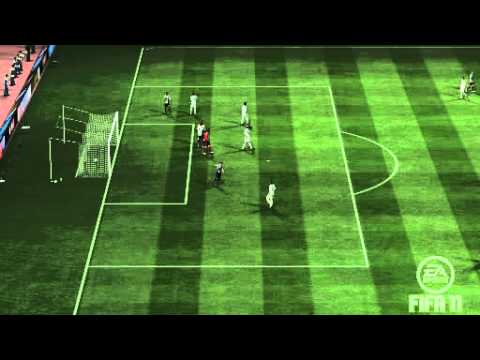 FIFA 11 - Newcastle Utd Carroll goal