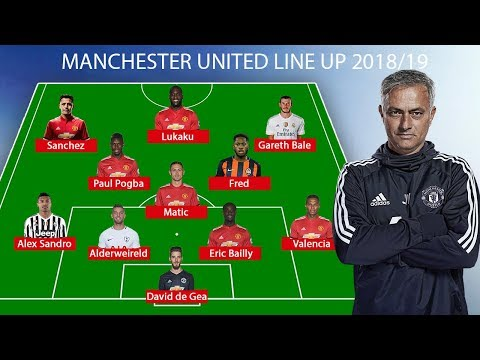 Manchester United Predicted Line Up 2018/19 ● Fred, Alex Sandro, Bale ... thumbnail