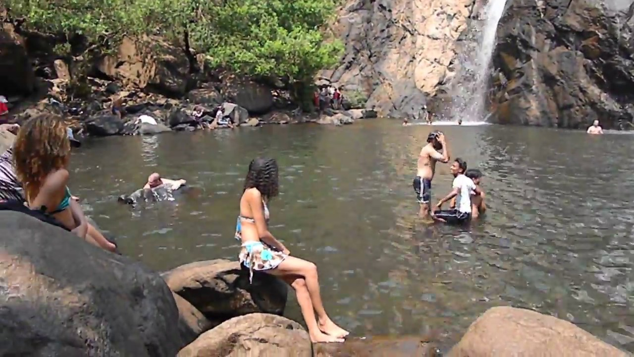 Goa Train Waterfall Sagar Waterfalls Goa