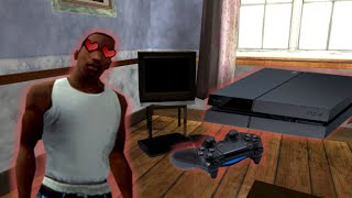CJ COMPRA LA PS4 - GTA San Andreas Loquendo