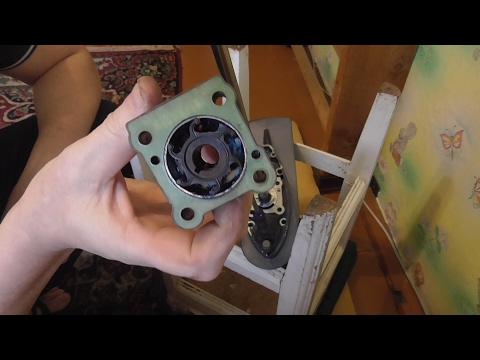как установить крыльчатку на лодочный мотор