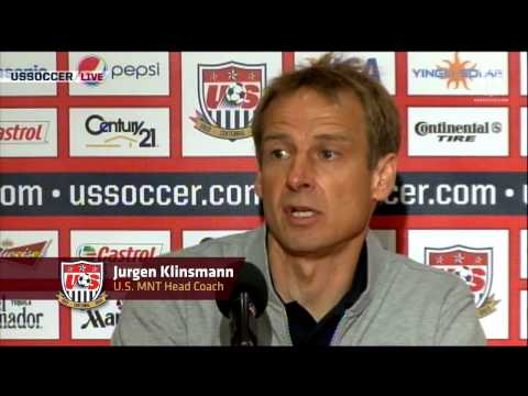 MNT vs. Panama: Post-Game Press Conference - June 11, 2013