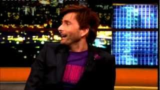 """David Tennant"" The Jonathan Ross Show Series 4 Ep 01 5 January 2013 Part 2/5"