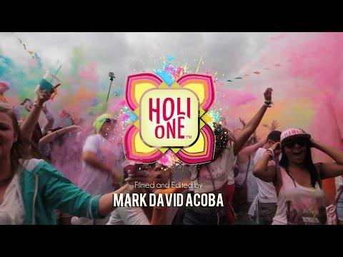 Dublin HOLI ONE Colour Festival 2014
