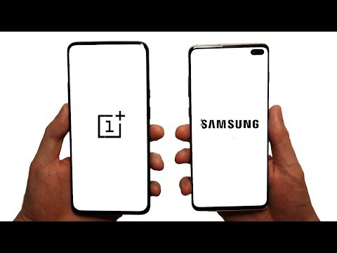 OnePlus 7 Pro vs Galaxy S10+ Speed Test, Battery, Cameras & Speakers!