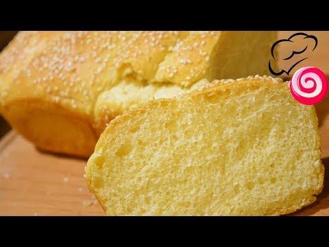 Мягкий Нежный Молочный хлеб (Ручным миксером)