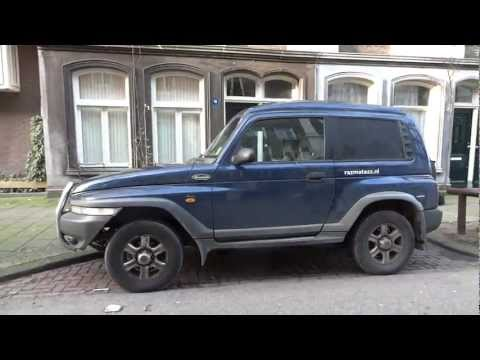SsangYong Mercedes Benz Turbo Diesel Jeep Korando 4X4 Ssang Yong TDI