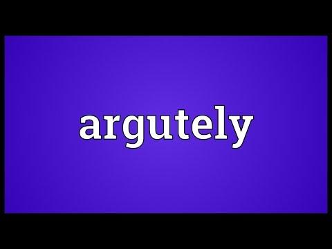 Header of argutely