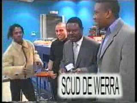 sankara dekunta avec Claude Makelele et Roberto Carlos
