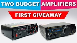 Two Best Budget Amplifiers in India | GIVEAWAY | 4440 IC | Hindi ElectroIndia