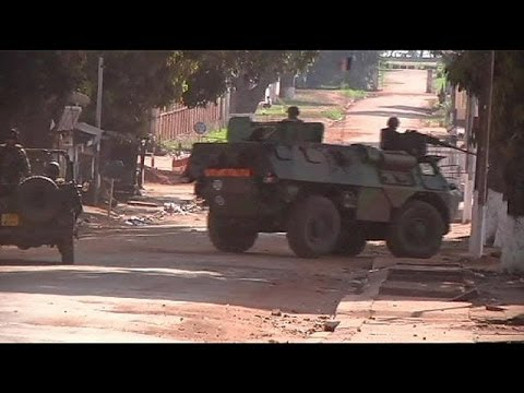 French troop reinforcements arrive in Central African Republic