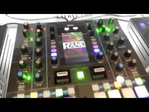 The DJ Expo 2017 - Rane Booth Walkthrough Video (Twelve, Seventy-Two, SL4, MP2015)