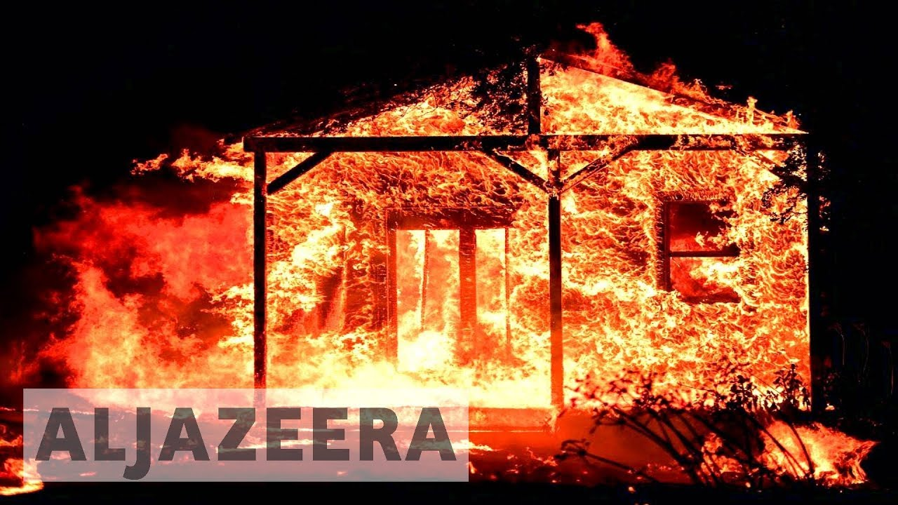 Deadly California wildfires destroy homes and businesses