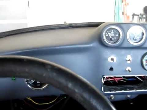 Driving my Pro Street 454 Big Block Chevy Powered 1971 Super Beetle VW for the 1st time