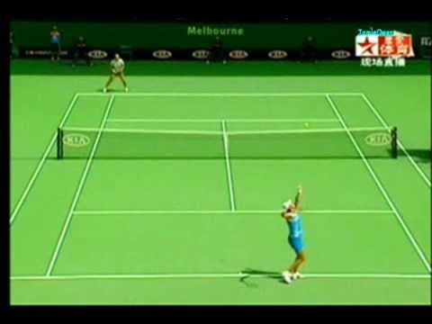 Lindsay Davenport vs Alicia Molik 2005 AO Highlights