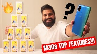 Samsung Galaxy M30s Top Features + Giveaway | 6000mAh | sAMOLED | 48MP #GoMonster🔥🔥🔥