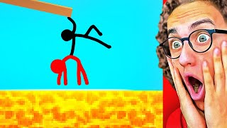 Reacting To World's Most Insane STICK FIGURE Animation
