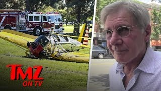 Harrison Ford Doesn't Want To Take About The Boeing 737 Crash | TMZ TV