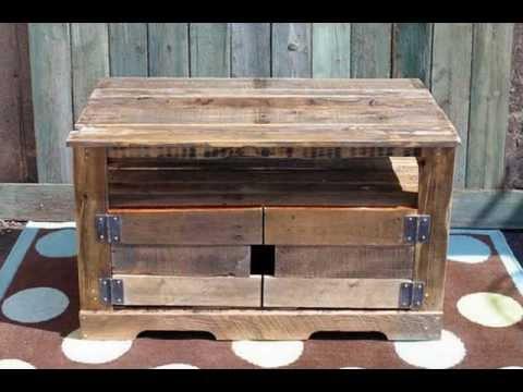 Muebles de palets de madera