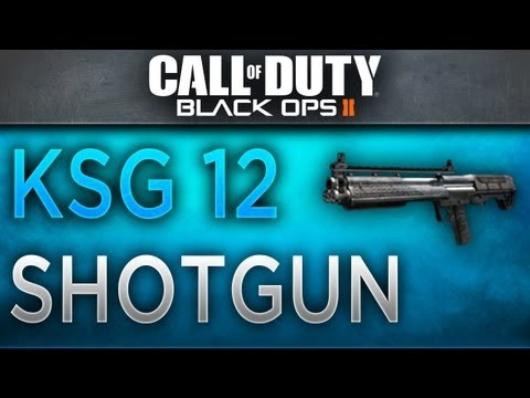 Black Ops 2 - KSG Shotgun Breakdown - Best KSG Shotgun Class Setup (BO2 Tips and Tricks) - zeo221
