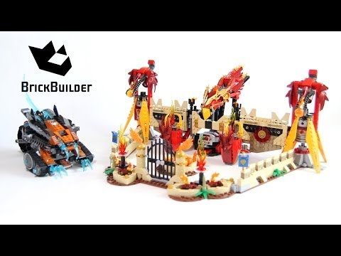 Lego Chima 70146 Flying Phoenix Fire Temple - Lego Speed build