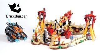 Lego Chima 70146 Flying Phoenix Fire Temple - Lego Speed build