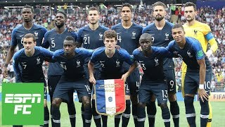 Who was France's best player during their 2018 World Cup title? | ESPN FC