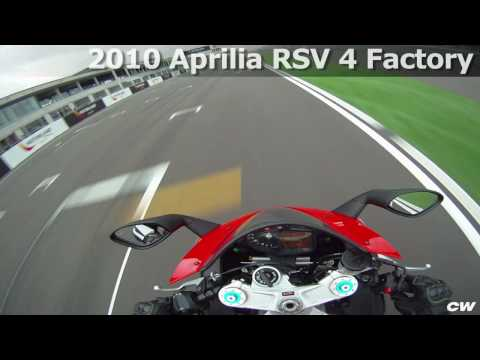 Aprilia RSV4 Factory at Motorland Aragon Video