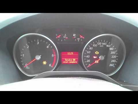 Kasowanie Inspekcji Ford S-MAX Oil Service Indicator Light Reset Ford S_MAX