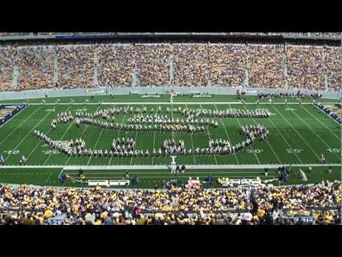2011 West Virginia University Marching Band Armed Forces Salute