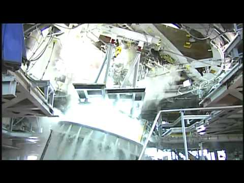 J-2X Engine Tested at Stennis