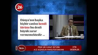 26.Gün | AÜ Eczacılık Dekanı Prof.Dr.Yusuf Öztürk