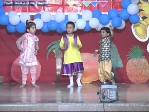 Tote Tote Ho Gaya Punjabi song performance on Annual Day 2012...