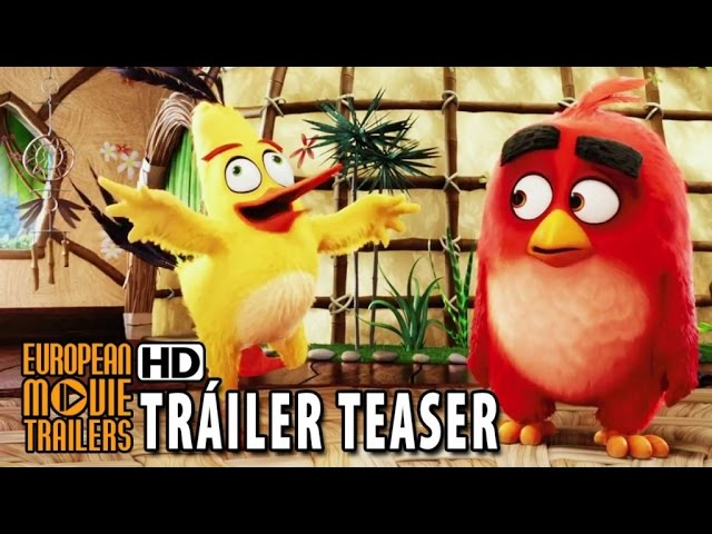 ANGRY BIRDS LA PELÍCULA Teaser tráiler en español (2016) HD