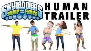 New Swap Force Trailer - Human Edition - 25 Swapabilities (Lame Stop Exclusive) ;)