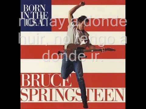 born in the u.s.a. / bruce springsteen - sutitulada en español