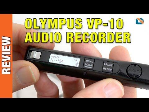 Olympus VP-10 Digital Voice Audio Recorder Review #Olympus