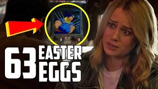 Captain Marvel: Every Easter Egg and Secret