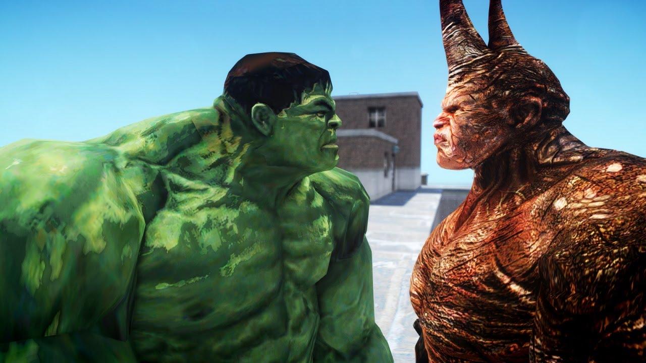 spiderman vs hulk movie