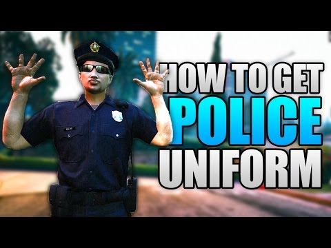 GTA 5 Online - HOW TO GET THE POLICE UNIFORM ONLINE! (GTA 5 Cop Outfit Glitch)