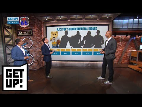 Richard Jefferson: DeMarcus Cousins to Warriors is biggest move of NBA offseason | Get Up! | ESPN