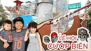 Bé Bún Đi Xem Lễ Hội Cướp Biển và Diễu Hành Pirates Carnival tại Thiên Đường Bảo Sơn