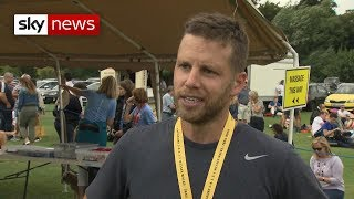 Novichok survivor takes part in marathon for NHS care appeal