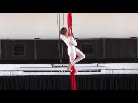 Крачковская Евгения 12 лет - Catwalk Dance Fest VIIl [pole dance, aerial] 14.05.17.
