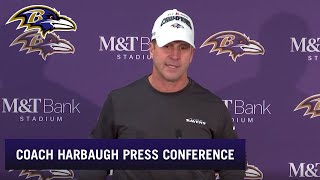 John Harbaugh: Division Title Is Our First Goal
