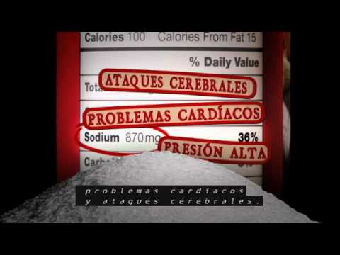 Sodium/Salt Reduction PSA in Spanish