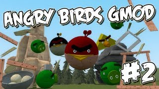 Garrys Mod Angry Birds Part 2 - Googly Eyes