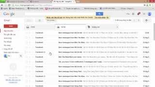 Mẹo Facebook : Cách tắt thông báo từ bằng email của Facebook