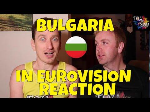 EUROVISION BULGARIA ALL SONGS REACTION