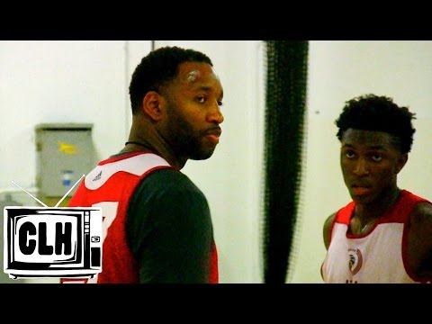 Stanley Johnson matches up with Tracy McGrady - QUICK VIDEO